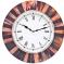 Диаметр: 46 см. Состаренные настенные часы в корпусе из дерева и металла.